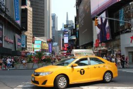 Yellow Cab Times Square